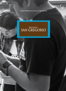 REVISTA SAN GREGORIO 9 portada