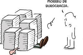 burocracia morreu