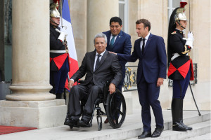 FRANCE-ECUADOR-POLITICS-DIPLOMACY
