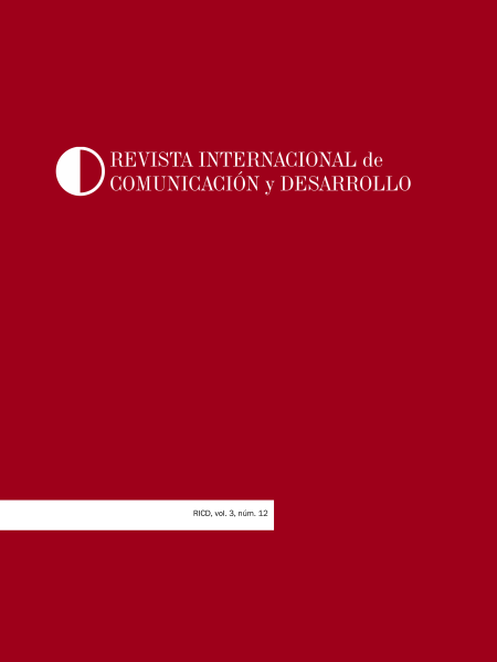 Revista Internacional de Comunicación y Desarrollo (RICD), núm. 12